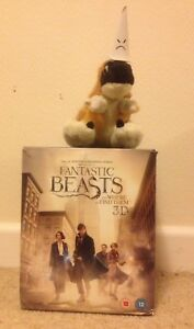 FANTASTIC BEASTS AND WHERE TO FIND THEM Niffler collectors edition 3D 2D BLU RAY