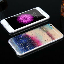 Clear Soft Silicone Rubber Back Protect Case Cover for Apple iPhone 7 Rain Gifts