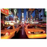 New York Times Square taxis Mural Para Pared 232cm x 315cm