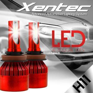 Car COB H4 H7 H11 48800LM 488W LED Headlight Kit Hi/Lo Light Bulbs 6000K 9005/06