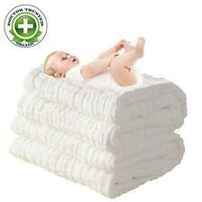 Baby Bath Towels Natural Super Soft Infant Newborn Boy Girl Muslin Cotton New