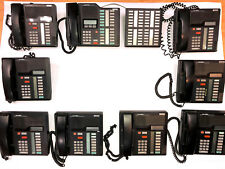 Northern Telecom Complete Phone System with Meridian M7208, M7324, Nt8B41 Phones
