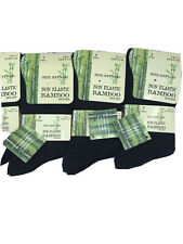 12 Pairs Womens non Elastic Top Bamboo Socks
