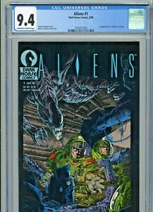 RARE Aliens #1 (1988) CGC 9.4 Dark Horse 1st Appearance & Printing!