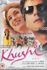 KHUSHI - FARDEEN KHAN - KAREENA KAPOOR - NEW BOLLYWOOD DVD