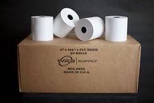 "50 rolls of 3"" x 165' Bond Paper Rolls for Kitchen Printer Paper"