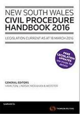NSW Civil Procedure Handbook 2016 by Law Book Co of Australasia (Paperback, 2016)