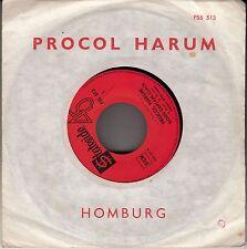 """45 T SP PROCOL HARUM  """"HOMBOURG"""""""