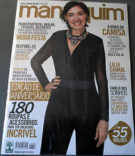 MANEQUIM  BRAZILIAN MAGAZINE 665 - AUGUST 2014 W? SEWING PATTERNS