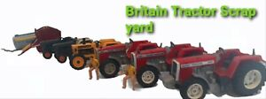 Britains Farm - Tractors spares/repair playworn