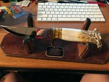 RARE & BEAUTIFUL VINTAGE K.W. Schmidt  CUSTOM MADE KNIFE  MINT