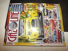 ** Revue Gazoline n°225 Citroen 2cv 007 / Fiat 124 Sport Coupe / DS 19 FA