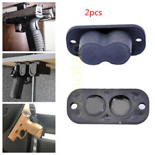 2Pack Magnet Concealed Pistol Gun Holder Mount under table desk bed 25lb Rating