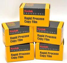 5) Kodak High contrast - Rapid Process Copy film