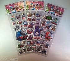 BUY 5 GET 5 FREE Thomas The Tank Kids Stickers Party Supplies Favour Reward Boys