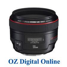 Canon EF 50mm f/1.2 L USM 50 f1.2 L USM +1 Year Au Wty