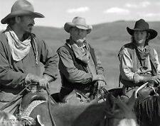 "OPEN RANGE   Kevin Costner & Robert Duvall    8""x10"" B & W  Photo Copy"
