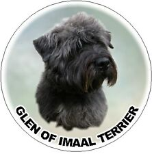 2 Glen of Imaal Terrier Dog Car Stickers by Starprint - Auto combined postage