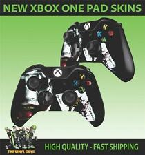 XBOX ONE THE JOKER WHY SO SERIOUS BATMAN VILLAIN CONTROLLER PAD STICKER SKINS X2