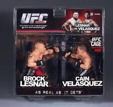 CAIN VELASQUEZ VS BROCK LESNAR ROUND 5 VERSUS SERIES 2 UFC FIGURE (2-PACK)