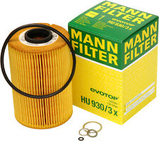 Mann-Filter HU930/3X Engine Oil Filter OEM Quality BMW Germany 11429063138