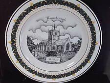 1995 Decor Art Knaresborough UK  THE CHURCH   Ltd Ed Plate