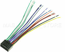 WIRE HARNESS FOR JVC KD-AVX44 KDAVX44 *PAY TODAY SHIPS TODAY*