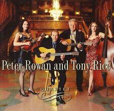 Quartet, Peter Rowan & Tony Rice CD Album