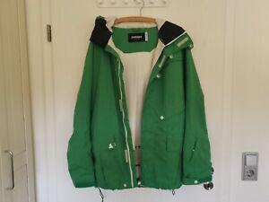 Zimtstern Damen Jacke / Mantel wasserdicht, Snowboardjacke grün Gr. L neu-wertig