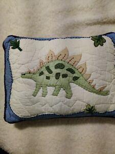 Pottery Barn Kids Dinosaur Crib small  Pillow 15X10