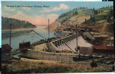 Hauser Lake Dam, HELENA, MONTANA, Post Card 1905-15 LEWIS AND CLARK CO. Industry
