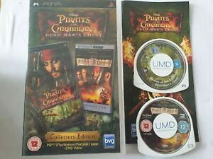 Pirates of the Caribbean Dead man's Chest Collectors Edition Sony PSP Game
