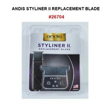 Andis STYLINER 2 REPLACEMENT BLADE #26704 M3 STEEL FOR D1, D2, SL2, SL3 TRIMMERS