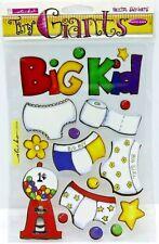 Potty Training Big Girl Big Boy Bubble Gum Machine Sticko Giants Vellum Stickers