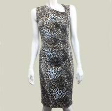 Womens Victorias Secret XS Leopard Print dress Bodycon Ruched Sexy Stretch