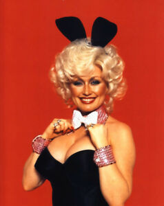 Dolly Parton UNSIGNED photograph - L3132 - For Playboy Magazine - NEW IMAGE!!!!