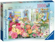 RAVENSBURGER PUZZLE*1000 TEILE*ANNE SEARLE*THE FLORIST'S WORKBENCH*RARITÄT*OVP