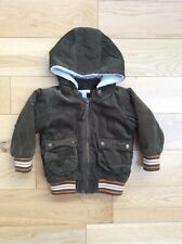 H&M olive green cord kids jacket size 12-18 months