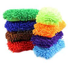 New Chenille Washing Brush Microfiber Car Vehicle Care Sponge Pad Cleaning Tool