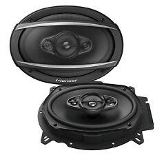 """Pioneer TS-A6960F 6""""x9"""" inch 4 way 450Watts Each Car speakers Rear Shelf 90RMS"""