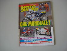 MOTOSPRINT 15/1992 APRILIA PEGASO 650/HONDA NX DOMINATOR/BETA ST 50/CAGIVA MITO