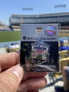 NEW!! DODGERS 2021 Opening Day PIN Dodgers vs. Washington 4/9/21 SOLD OUT