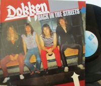 DOKKEN ~ Back In The Streets ~ VINYL LP GERMAN PRESS