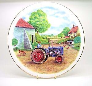 ~~~ Fordson Major E27N ~ Bone China Tractor Plate