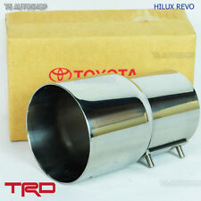 Pipe Muffler Cutter Exhaust For Toyota Hilux Revo Sr5 Genuine 2015 2016 2017