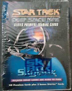 Sealed Complete Box of SkyBox Star Trek Deep Space Nine Series Premier Trading C