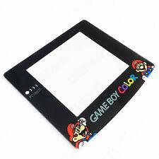 SUPER MARIO NINTENDO GAME BOY COLOR GBC Nuovo schermo coperchio di plastica