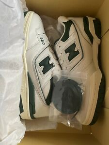DS New Balance 550 AIME LEON DORE white and green US 8 (with original box) ALD