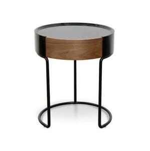 NEW Silo Side Table   Black