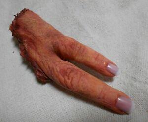 HALLOWEEN HORROR PROP - Dead Fingers FREAK SHOW Body Parts Zombie Gore